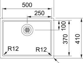 BXX 210.50.37 Maattekening