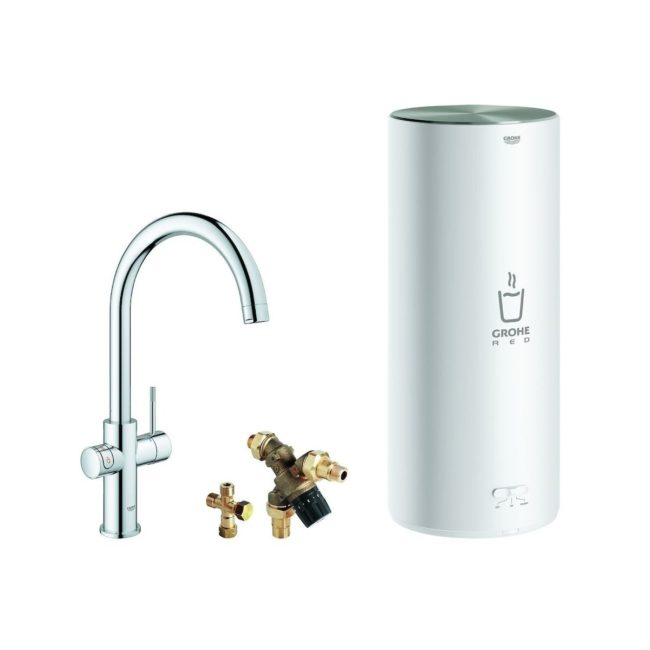 GROHE Red new Duo 3 in 1 supersteel 30031
