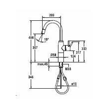 KWC keukenkraan Systema 10501102000 Chroom