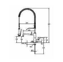 KWC keukenkraan Systema 10501154000 Chroom