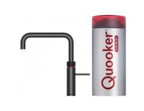 Quooker COMBI+ Fusion Square Black 3in1
