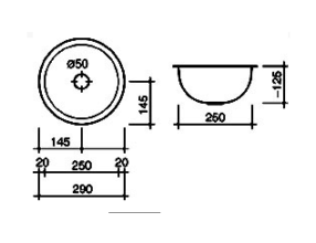 Reginox Rio spoelbak Vlakinbouw B08G1LBP02GDS