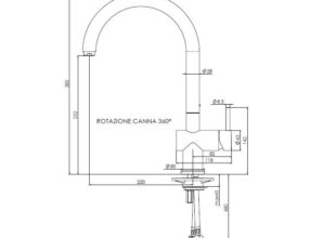 Reginox Yampa keukenkraan chroom