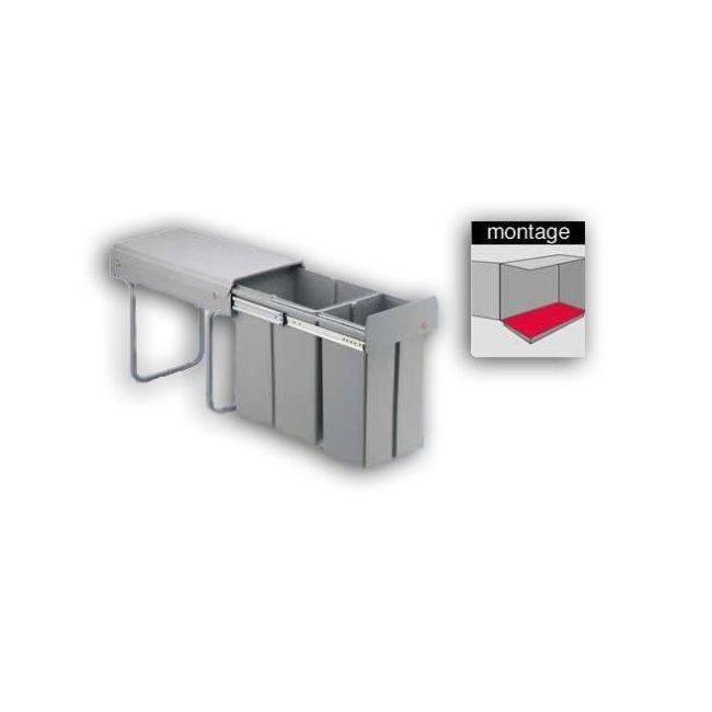 Wesco bio double Afvalemmer 30 liter 38721