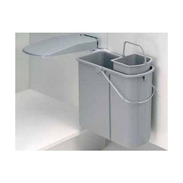 Wesco formula 19 liter inbouw prullenbak