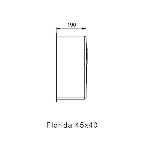 Reginox-Spoelbak-Florida-45x40-afmetingen2